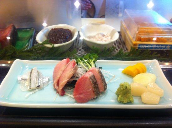 Japanese Restaurant KENJO: sashimi festival 18/12/2011