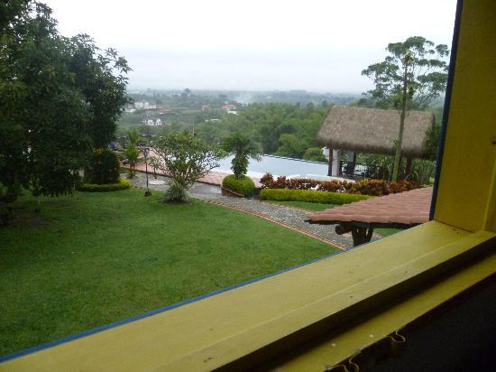 Hacienda Combia: desde habitación de segunda planta