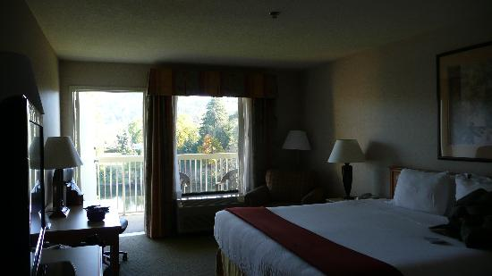 Holiday Inn Express Roseburg: Hotel room