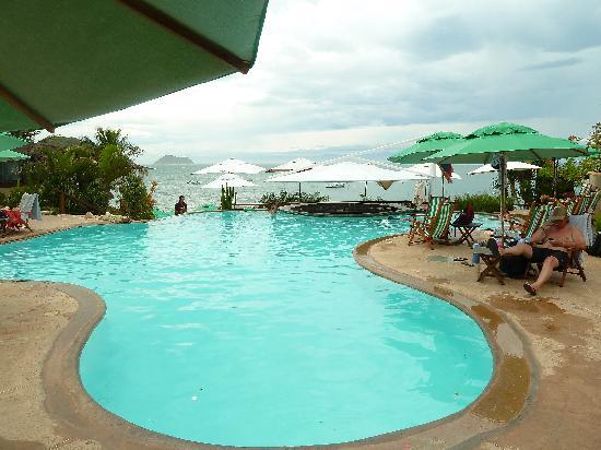 "Hotel La Foret: Piscina del club ""la Plage"""