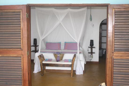 Butiama Beach: our room