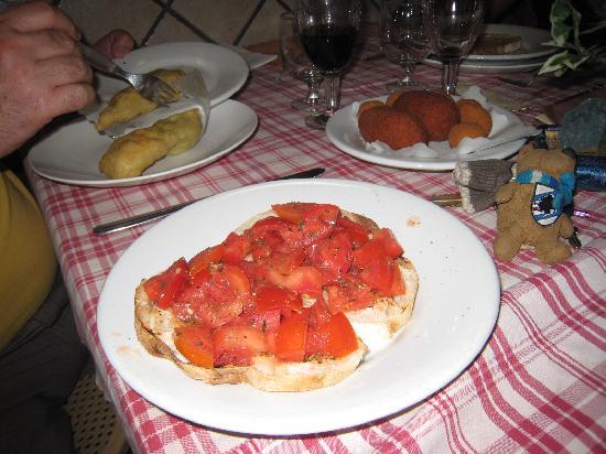 Da Ferretti Al Grottino: Yum Yum appetiser