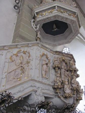 Maria Im Sand: pulpit