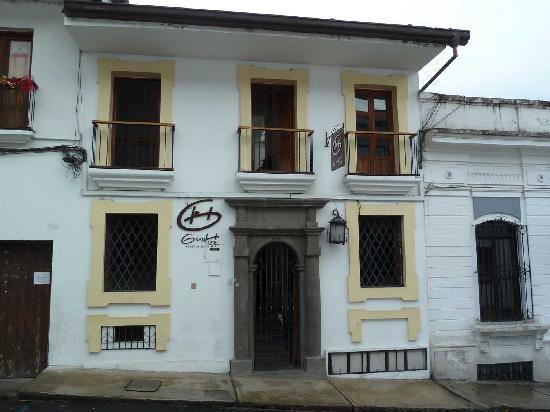 Gran Hotel Popayan: Gran Hotel Front zur Strasse