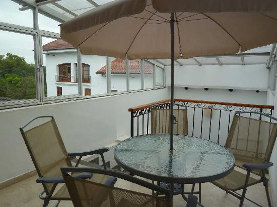 Gran Hotel Popayan: Gran Hotel Dachterrasse (verglast)