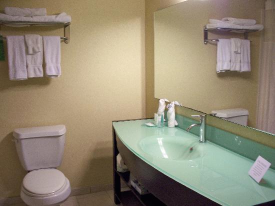 Clarion Inn & Suites Atlantic City North: Bathroom-King Suite