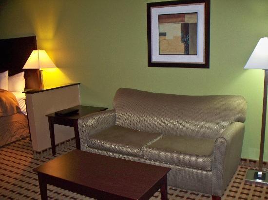 Clarion Inn & Suites Atlantic City North : Sitting area-King Suite
