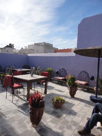 Dar Zayna: terrasse