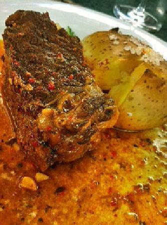 Bistro La Tupina: Carne marinada por 4 horas