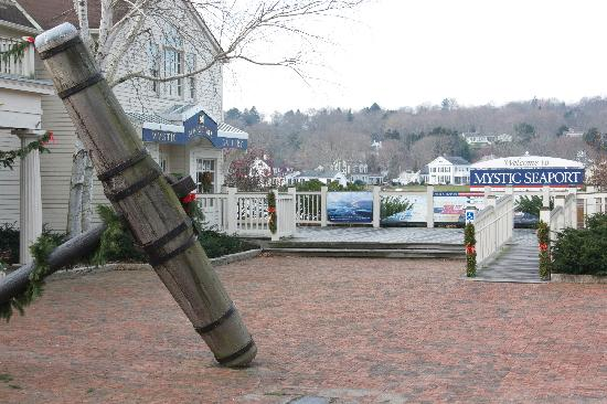 Mystic Seaport: One of many anchors