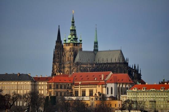 Pension Brezina : Prague Castle in Dec 2011