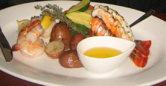 Sandstone Grillhouse: seafood stuff