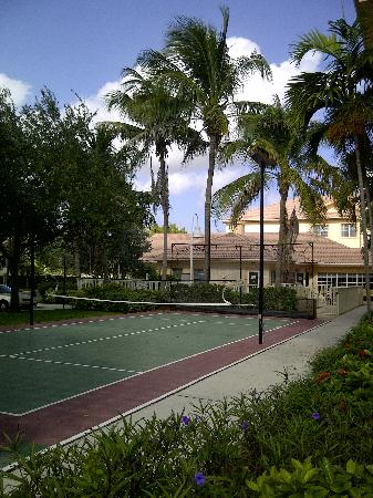 Residence Inn West Palm Beach: Outdoor facilities