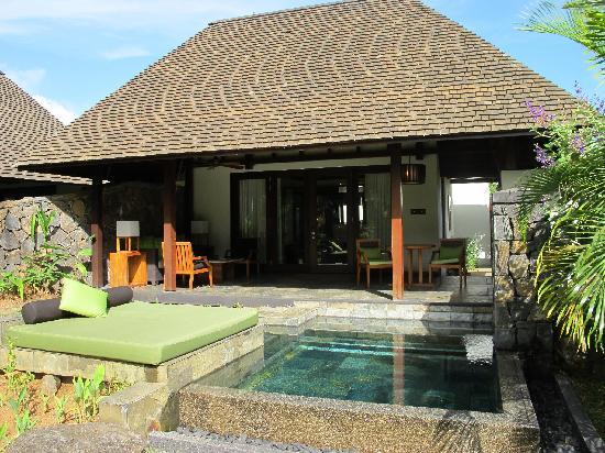 Garden villa 123 picture of four seasons resort for Garden pool villa four seasons mauritius