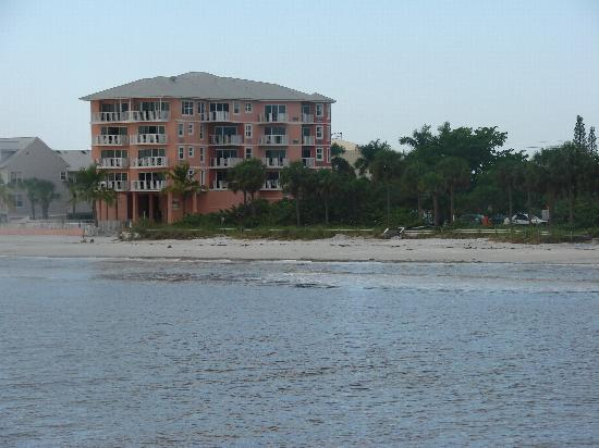 Edison Beach House taken from the pier.