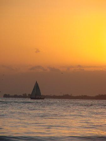 Sunset at Edison Beach House