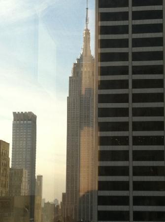 Sofitel New York: L'Empire State Bldng vue de la chambre 2815