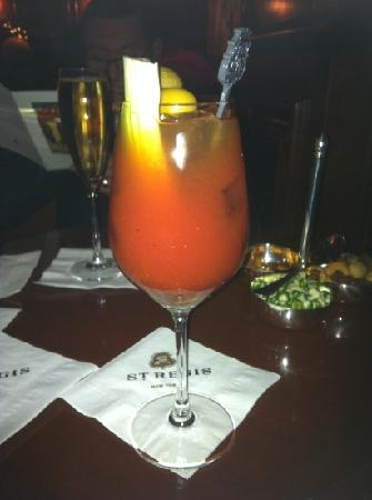 Sofitel New York: Le Bloody Mary par son inventeur ! incontournable