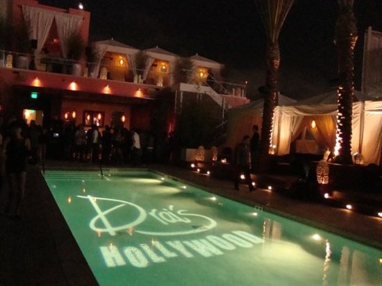 Drai's Hollywood : Party by the pool