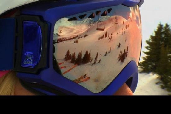 Astoria Hotel : View from the chair- Marmot basin - No cues...