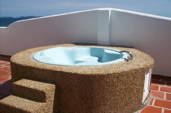 Isla Caribe Beach Hotel : el jacuzzi d mi habitacion