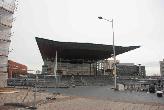 National Assembly for Wales: The Senedd building