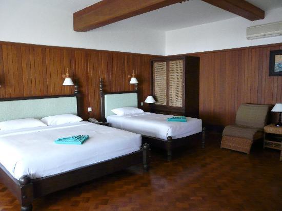 Thande Beach Hotel: Notre chambre