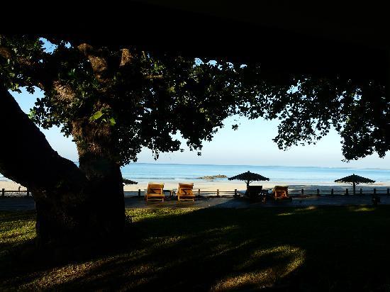 Thande Beach Hotel: Vue de notre chambre