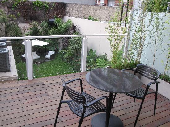 Fierro Hotel Buenos Aires: balcony