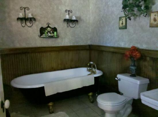 The Steamboat Inn Bed & Breakfast: Our Bathroom