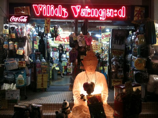 Shimokitazawa: Hahaaa, my favorite goofy shop, Village Vanguard!