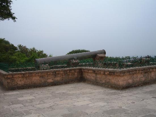 Uperkot Fort: Cannon Nilamtope