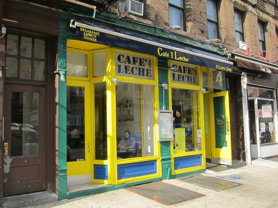 Cafe Con Leche Upper West Side Menu