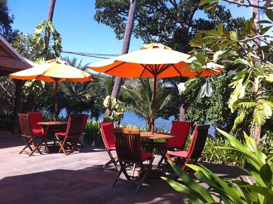 Mealea Resort : seaview terrace