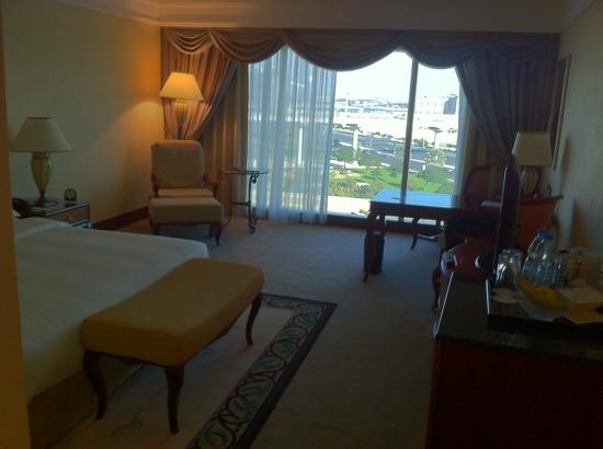 Grand Hyatt Dubai: my room upon arrival