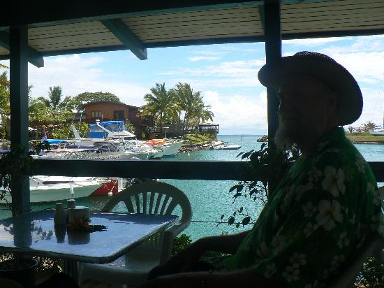 Vuda Point Marina Fiji: A good cuppa and cake