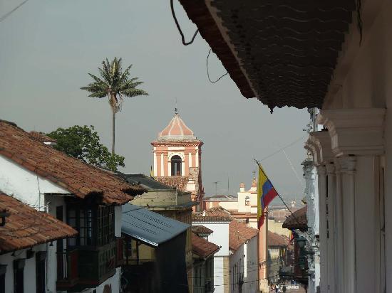 La Candelaria: Am Rand von La Calendaria Richtung Zentrum