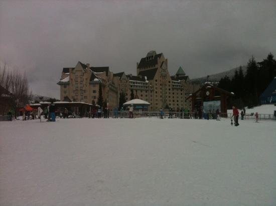 Taman Sari Royal Heritage Spa: ski loop view