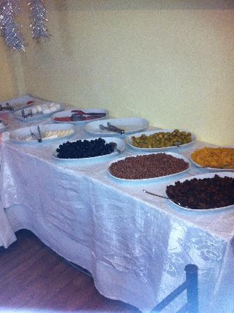 Istanbul Comfort Hotel: Das Restaurant - Frühstücksbuffet