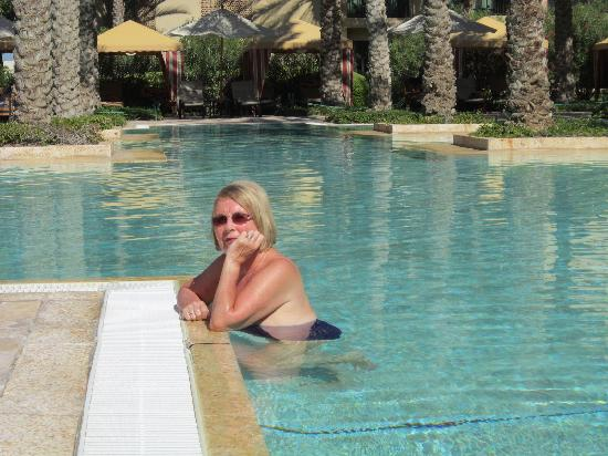 The Palace at One&Only Royal Mirage Dubai: Dreaming in the pool