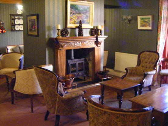 Princes Arms Hotel: Warmth and comfort in the lounge