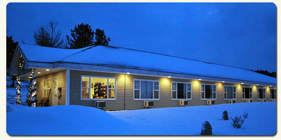 Antigonish Evergreen Inn: Winter at the Inn - so pretty