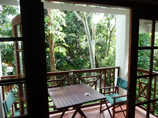 St Lucia Eco Lodge and Conference Centre: Balcony