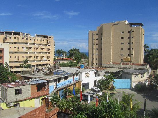 La Guaira, Venezuela: View from the hotel