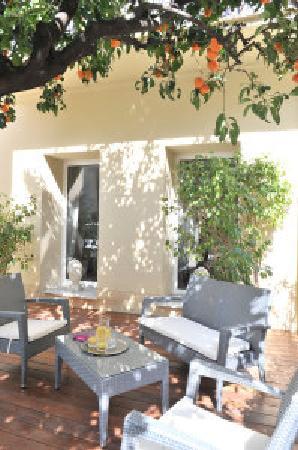 Hotel La Villa Nice Promenade: TERRASSE