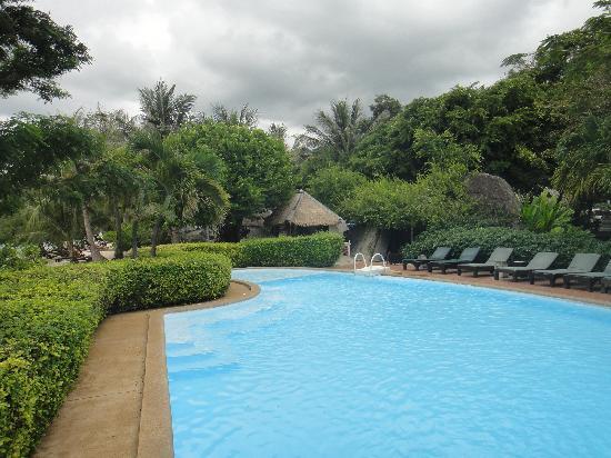 Sarikantang Resort & Spa : Swimming Pool next to the Spa