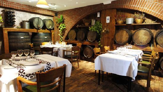 Carne estilo campo fotograf a de restaurant estilo campo for Bar de madera estilo campo