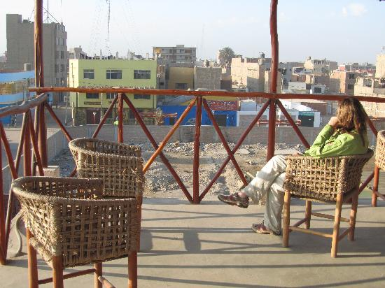 Hostal Posada Hispana: View from the rooftop terrace