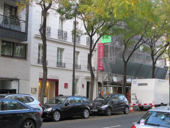Hotel Palais de Chaillot: The Hotel