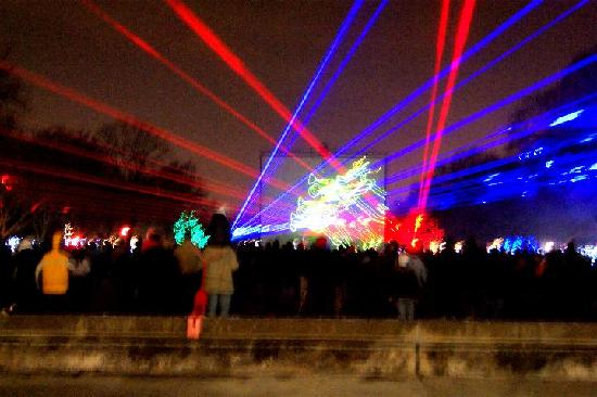 Brookfield, Илинойс: The very cool lazer light show